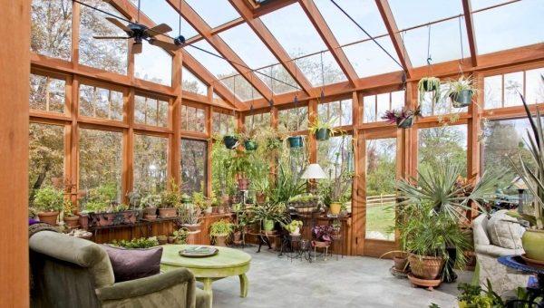 Зимний сад в частном доме — как обустроить? Ответ здесь!